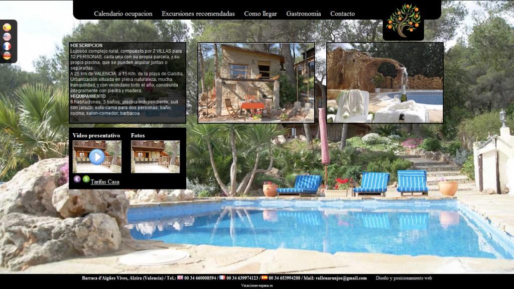 Pagina web gratis para tu alojamiento rural