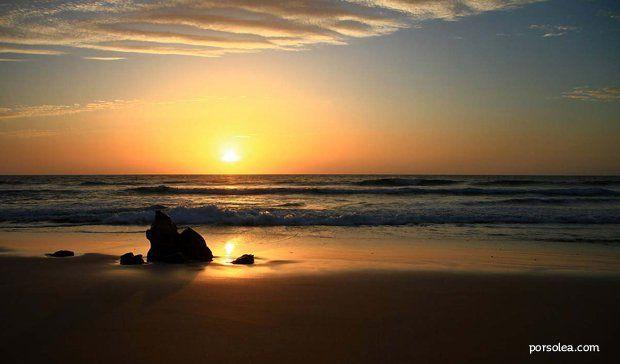 Puesta de sol Playa del Cotillo