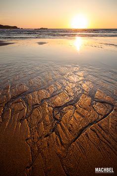 Puesta de sol Playa del Verdicio