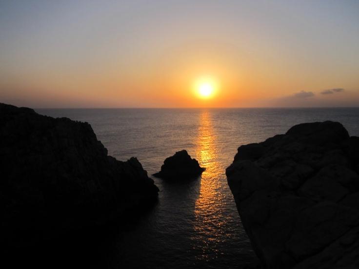 Puesta de sol Punta Nati