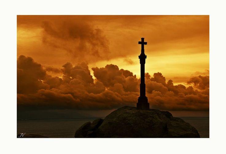 Puesta de sol Cabo de Finisterre