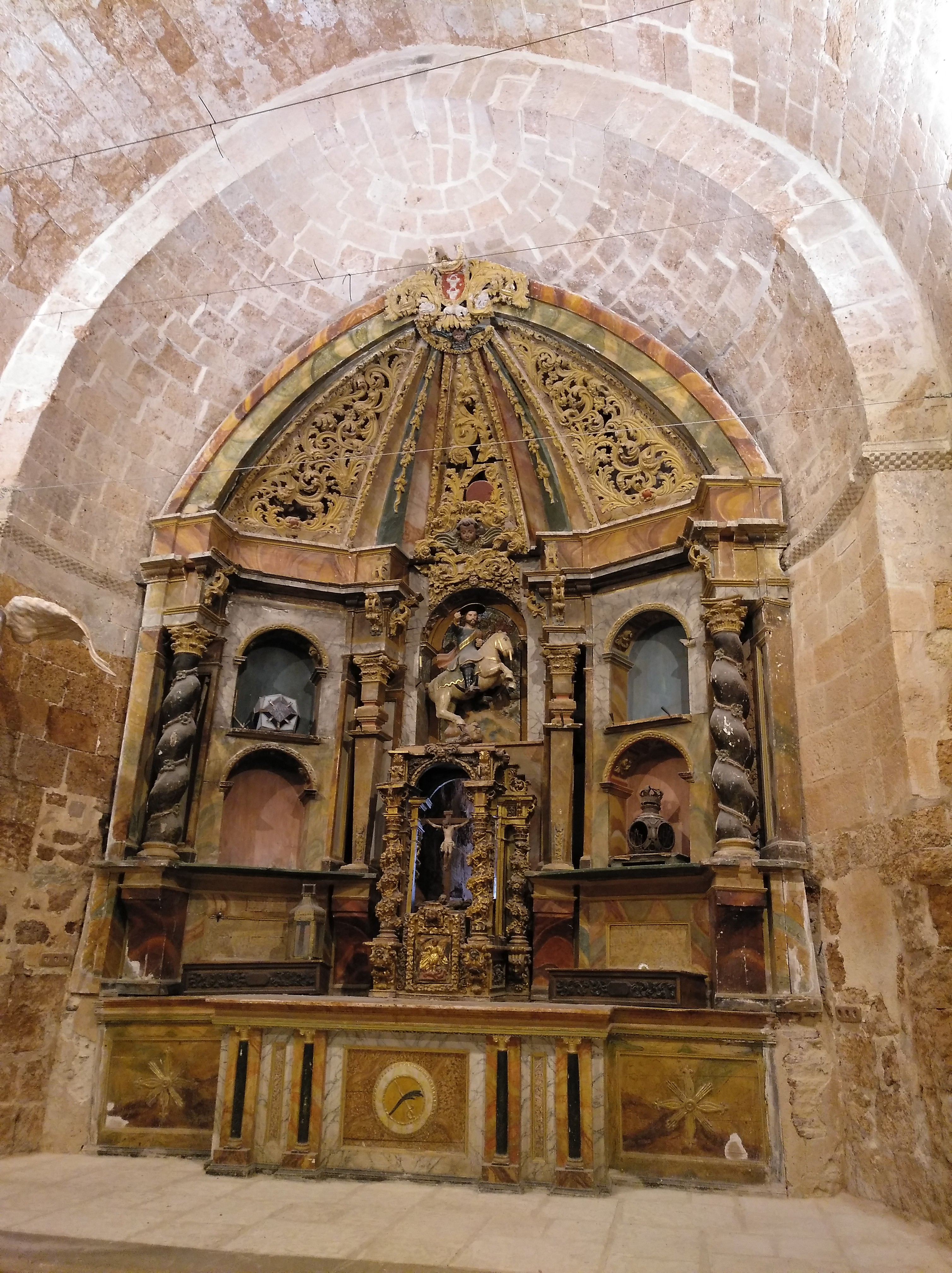 Alta de la Iglesia de San Miguel.