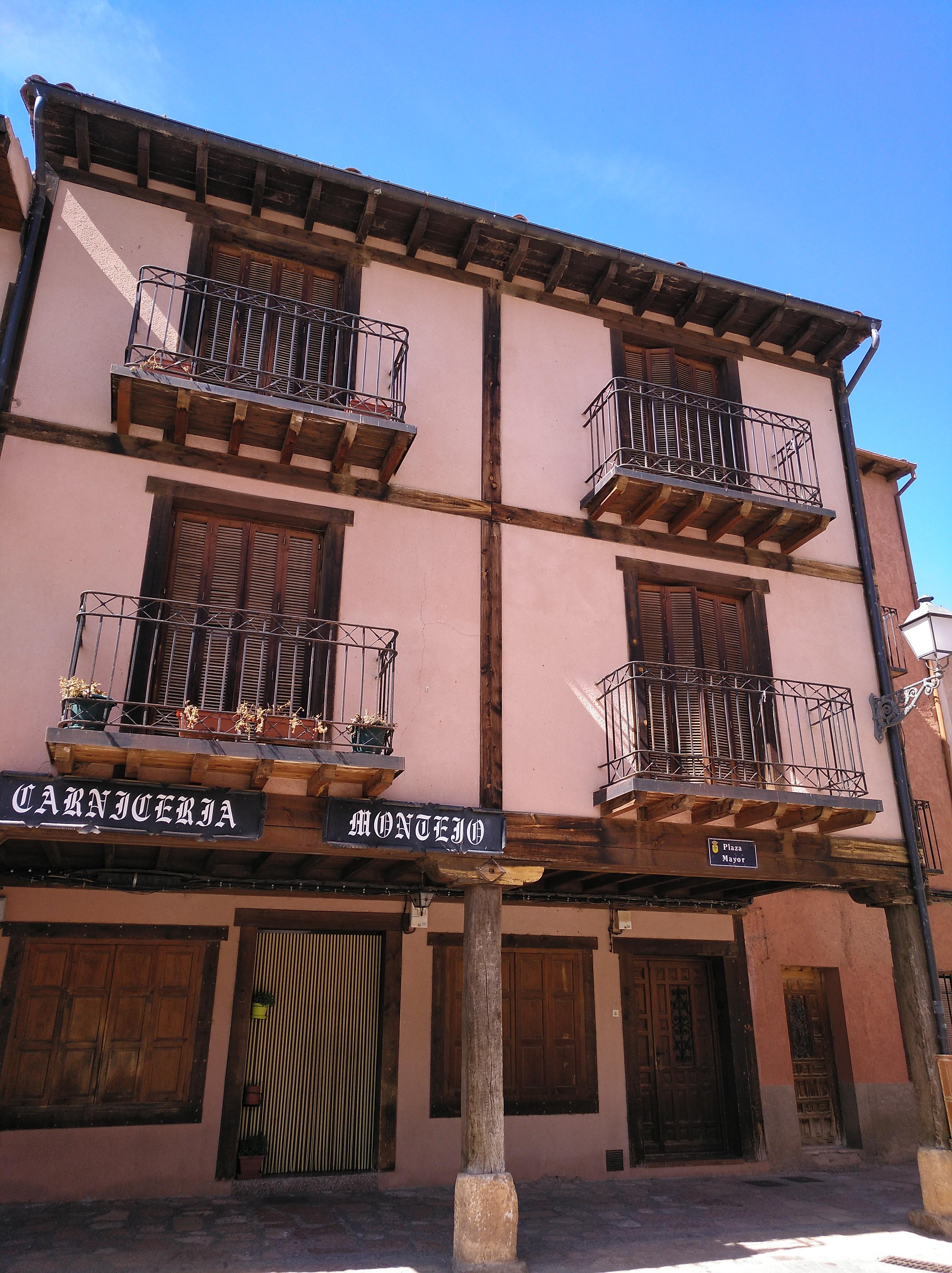 Edificio de la Plaza Mayor.