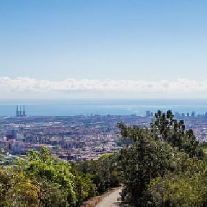Collserola parque natural Barcelona