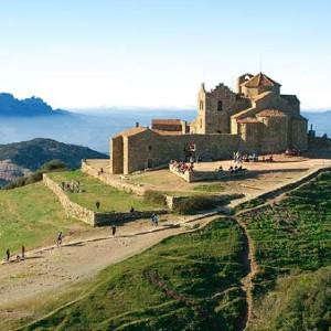 Monasterio Sant Llorenc del Munt- paisajes de Barcelona