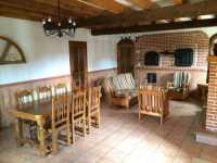Salón-comedor - Casa de la Cebada