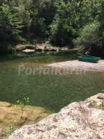 Piscina natural del rio Muga