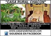 Habitación y Exterior de Casa Rural Chacón