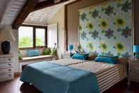 habitaciones dobles con zona de estar y vistas
