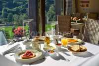Desayunos con vistas al jardín