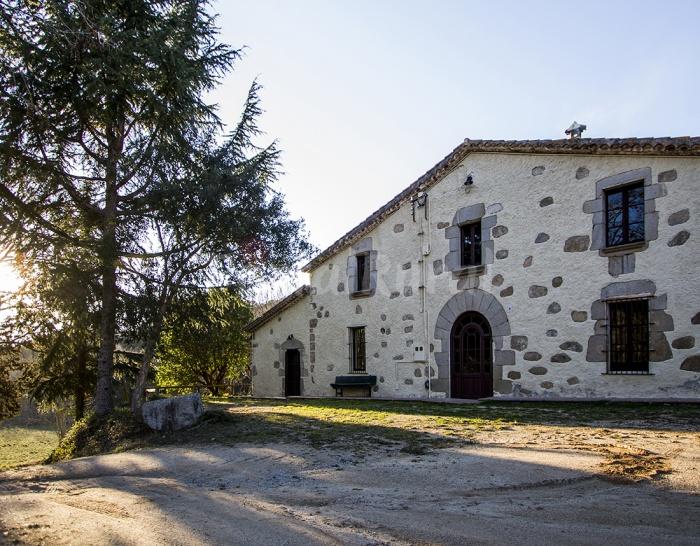 Casa rural can sab mas a en dosrius barcelona - Casa rural 15 personas ...