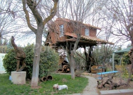 la cas ta del arbol bungalow en fuentes cuenca